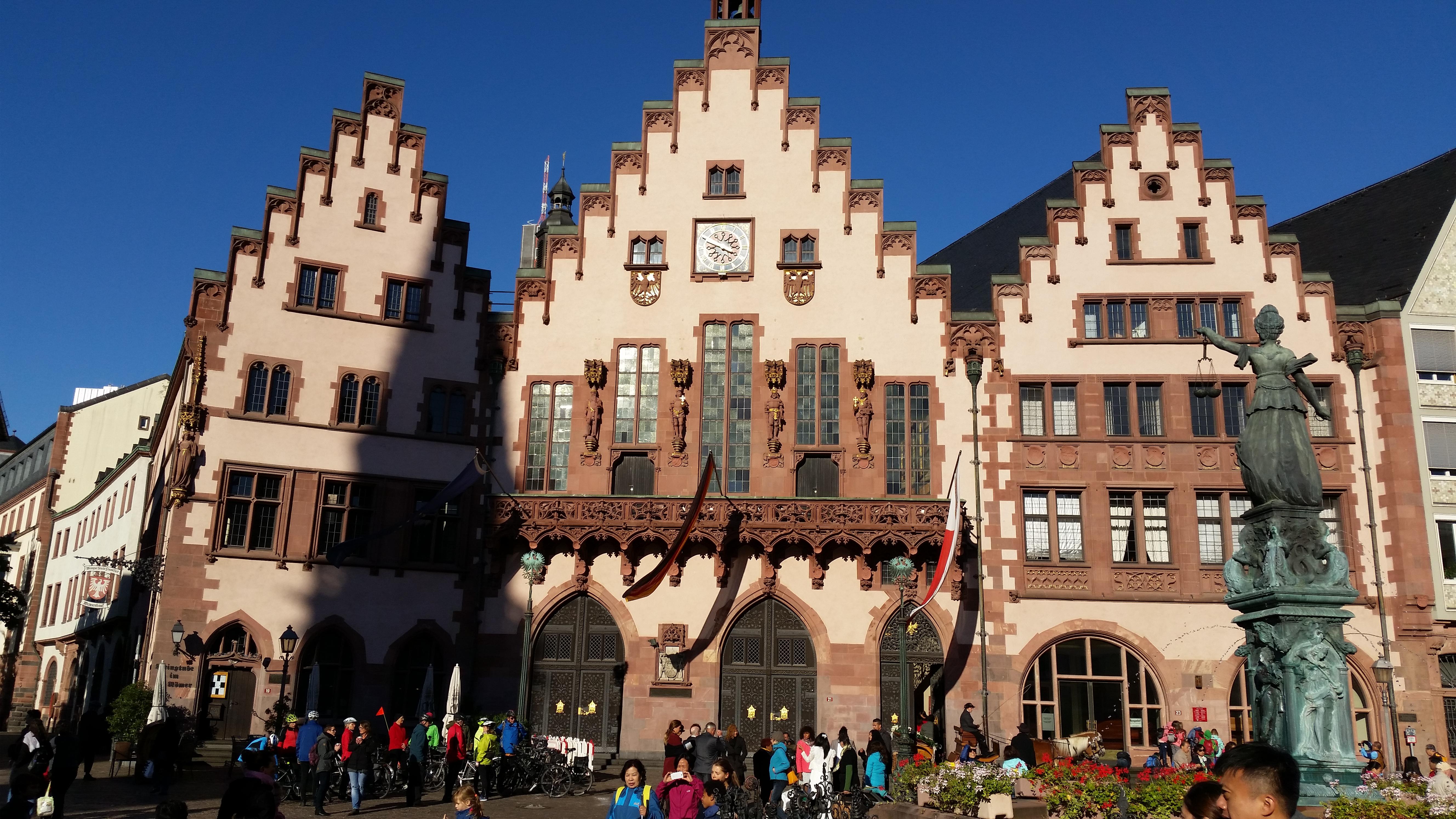 Die Stadt Frankfurt